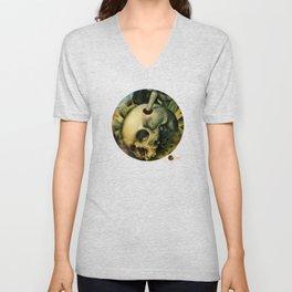 Trepanation (Skull) Unisex V-Neck