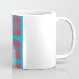 I Still Shoot Film Holga Logo - Blue & Red Coffee Mug