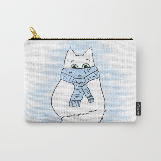 Cartoon cat. Carry-All Pouch
