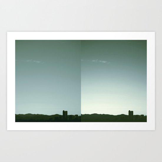 Denver Silhouette Art Print