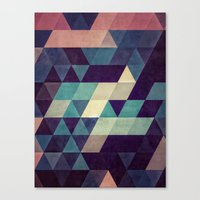 spires Canvas Prints featuring cryyp by Spires