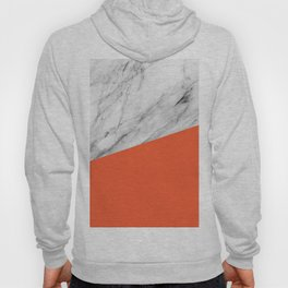 Marble and Flame Color Hoody