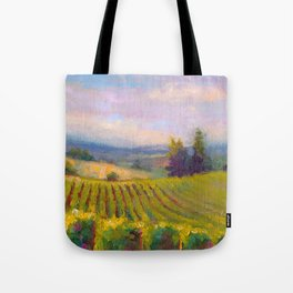 Fruit of the Vine Oregon Vineyard Tote Bag