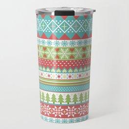 Fair Isle Holiday Travel Mug