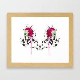 """""""Double Vision"""" Framed Art Print"""