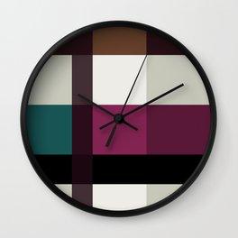 Chocolate Fudge and Berries Wall Clock