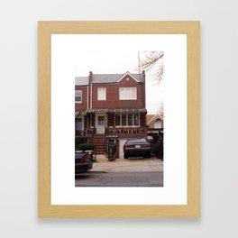 Brooklyn House 2001 #5 Framed Art Print
