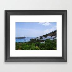 Greece Framed Art Print