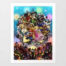 Legend of Seven Stars! Art Print