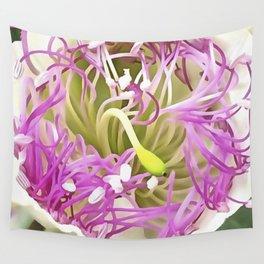 Caper Flower Blossom Wall Tapestry