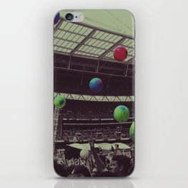 Coldplay at Wembley iPhone Skin