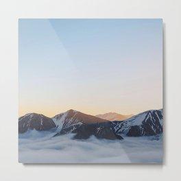Mountain feels Metal Print