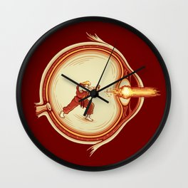 Optic Blast Wall Clock