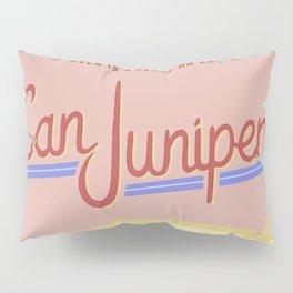 San Junipero Travel Pillow Sham