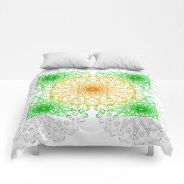 Mandala Calamar Comforters