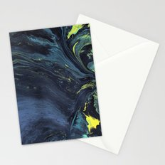 Gravity Painting 1 Stationery Cards