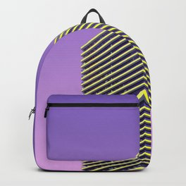 YELLOW GLASS WALLED HIGH-RISE BUILDING Backpack