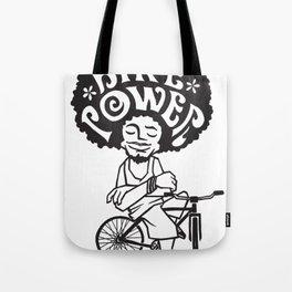 Bike Power - Bicicleta Girassol Tote Bag