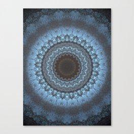 Bohemian Blue Canvas Print