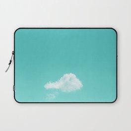 Nube cian Laptop Sleeve