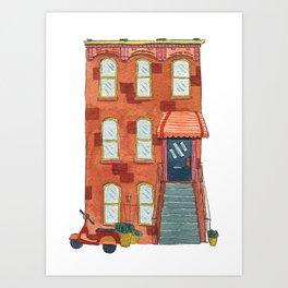 Brooklyn House 5 Art Print