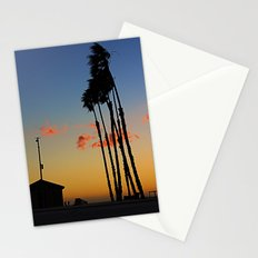 Long Beach Hut Stationery Cards