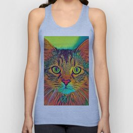 AnimalColor_Cat_ 011_by_JAMColors Unisex Tank Top