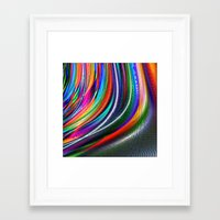 aurora Framed Art Prints featuring Aurora by David  Gough