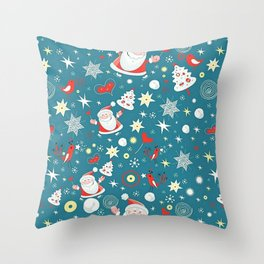 Christmas Pattern Throw Pillow