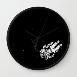 Lost in Eternity Wall Clock