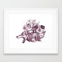 3d Framed Art Prints featuring 3D by dogooder