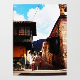 Life on latinoamerica - Colombia Poster