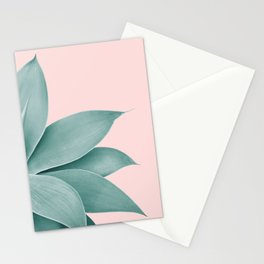 Agave Finesse #3 #tropical #decor #art #society6 Stationery Cards