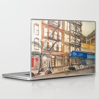 les mis Laptop & iPad Skins featuring LES by Yarden