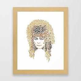 Jareth In Labyrinth Framed Art Print