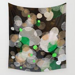 perplexed green Wall Tapestry