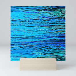 ripples on imagined water Mini Art Print
