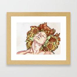 SHE of the Sun Framed Art Print