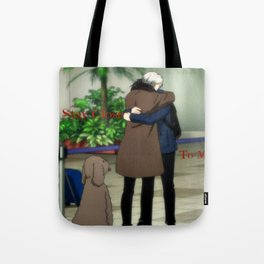 Stay Close To Me - Yuri On ice Tote Bag