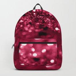 Red Summer Love Glitter #2 #shiny #decor #art #society6 Backpack