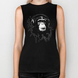 Monkey Business - Black Biker Tank