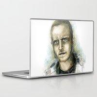 jesse pinkman Laptop & iPad Skins featuring Jesse Pinkman - Breaking Bad by Lisa Lemoine