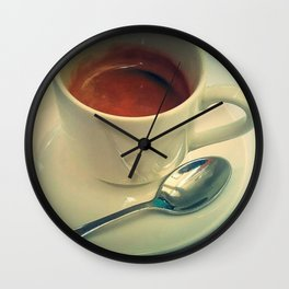 Cuban Coffee Photo Wall Clock