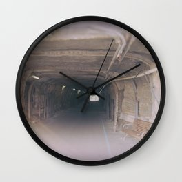 Tunnel To The Other Side Wall Clock