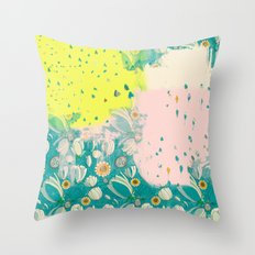Over Time Throw Pillow