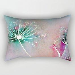 Funky Fennel Fireworks Rectangular Pillow
