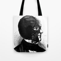 bdsm Tote Bags featuring BDSM IX by DIVIDUS