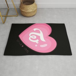 Twice what is love Rug