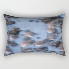 Twilight Gathering Rectangular Pillow