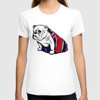 british T-shirts featuring British Bulldog by Pancho the Macho